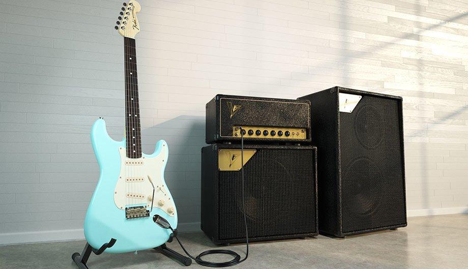 Free Guitar 3d model