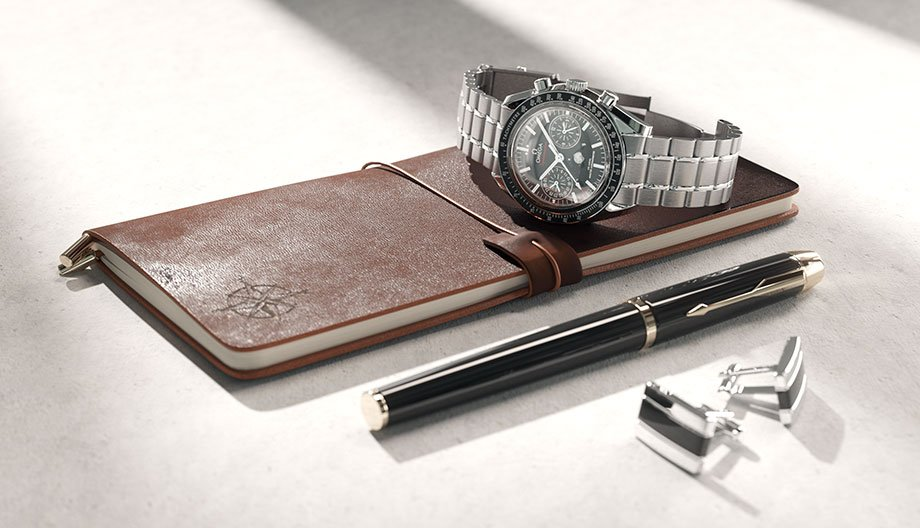 Wristwatch 3D Model for Corona and Vray
