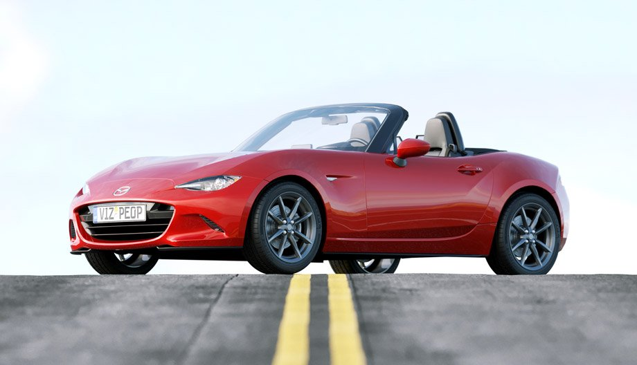 Free 3D Model - Mazda MX-5 | VizPeople Blog