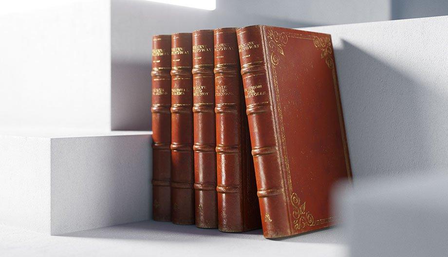Free 3D Model - Books   VizPeople Blog
