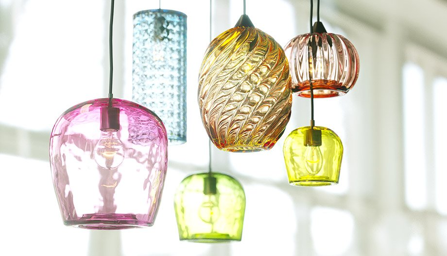 Free 3D Model – Glass ceiling lamps | VizPeople Blog