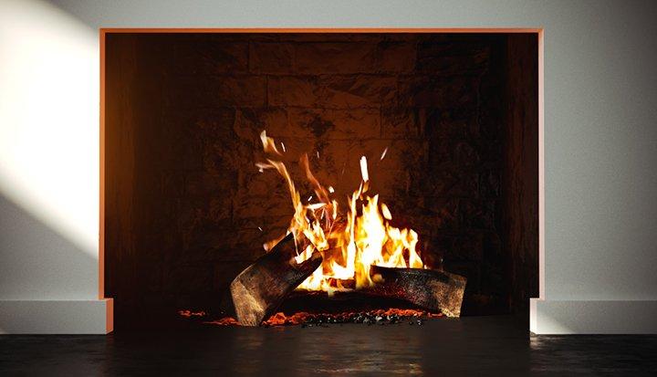 Free 3D Model - Fireplace | VizPeople Blog